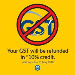 Refund GST